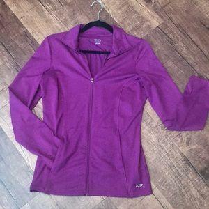 Zip up Workout/Weather Jacket